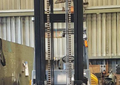 Forklift Under Repair