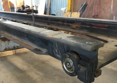 Bent Mast Repair